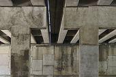 underpass columns