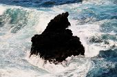 Volcanic Ock At Sea