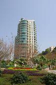 Apartment Blocks In Lantau Island