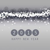 New Year Card, Cover or Background Template - 2015