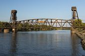 Railroad Lift Bridge