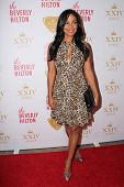 LOS ANGELES - OCT 16:  Sanaa Lathan at the XXIV Karat Launch Party at Beverly Hilton Hotel on Octobe