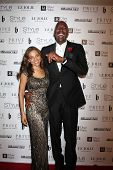 LOS ANGELES - OCT 15:  Natasha Salley, John Salley at the Sue Wong