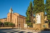 War Memorial and Church San Francesco In Prato