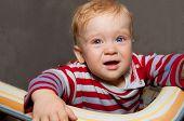 Little Baby Boy Cries