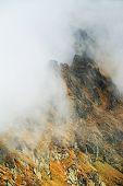 Alpine landscape in teh Transylvanian Alps, Romania, Europe