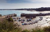 Newquay harbour North Cornwall England UK