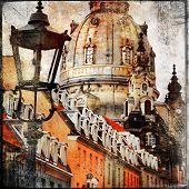 old Dresden - vintage cards series