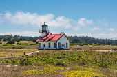 The lighthouse of Fort Bragg, California