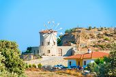 Stone Windmill In Old Style