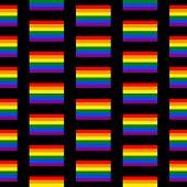 Gay Flag Seamless Pattern