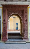Doorway Of Mehrangarh Fort, Jodhpur, Rajasthan, India