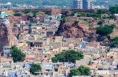 Cityscape Of Jodhpur From Mehrangarh Fort