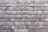 Wall With Slate Shingles