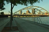 foto of board-walk  - this image is about a board walk in Rochester N - JPG