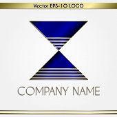 Vector abstract company name logo
