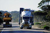 When Two Big Australian Trucks Cross