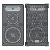vector concert speakers