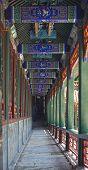 Beijing Summer Palace corridor