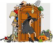 Witches closet