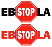 2 Stop Sign Ebola Virus