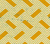 Vintage geometric pattern with dirt texture, old style background.