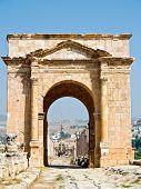 image of cardo  - Main street cardo in Roman city - JPG