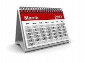 Calendar 2013 - March