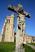 Church with crucifix