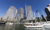 New York, Usa - North Cove Marina At Battery Park