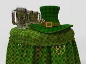 picture of leprechaun hat  - St - JPG