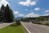 Avenue Francois Abadie Leading Into Lourdes
