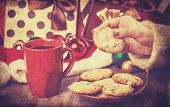 Cookies, Cup Of Coffee