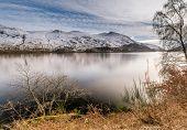 Helvellyn Beyond Thirlmere Reservoir