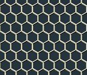 Grid Of Hexagons