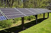 Large Solar Energy Panel Array