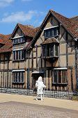 Shakespeares ghost, Stratford-upon-Avon.