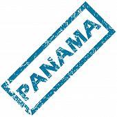 Panama rubber stamp