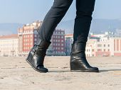 Boots Of A Walking Woman