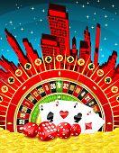 Abstract Gambling City