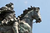 King Freidrich on Horse Statute
