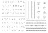 picture of illuminati  - Set of geometric shapes - JPG