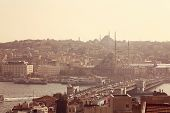 image of constantinople  - Beautiful Capture of Cityscape of Istanbul Turkey - JPG