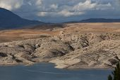 stock photo of algeria  - Mountainous Landscape - JPG