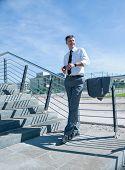 image of professor  - Portrait of confident male professor - JPG