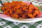 picture of carrot  - Plate of stir - JPG