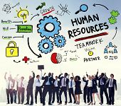picture of recruitment  - Human Resources Employment Job Recruitment Profession Concept - JPG