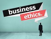foto of integrity  - Business Ethics Integrity Honesty Trust Concept - JPG