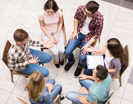 picture of counseling  - Group therapy - JPG