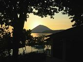 Sunset On The Bunaken Island, Manado, Sulawesi, Indonesia